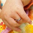 赤ちゃんサイズのBABY RING