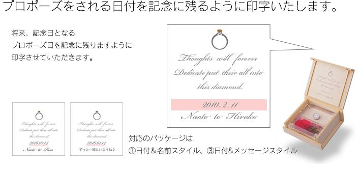 プロポーズ記念日